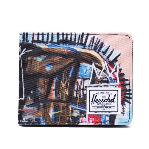 [Herschel X Jean-Michel Basquiat] Roy Coin RFID (032)