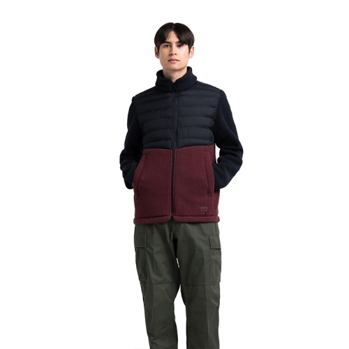 [Guide Fleece] Mens Hybrid Sherpa Full Zip (310)